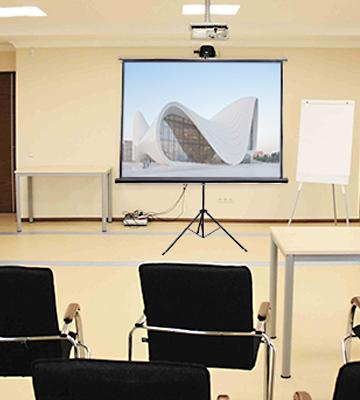 review of vivo portable projector screen