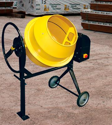 Review of Pro-Series CME35 Electric Cement Mixer