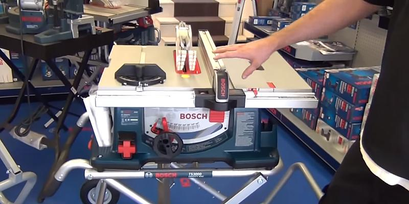 Review of Bosch 4100-09 with Gravity-Rise Stand Table Saw
