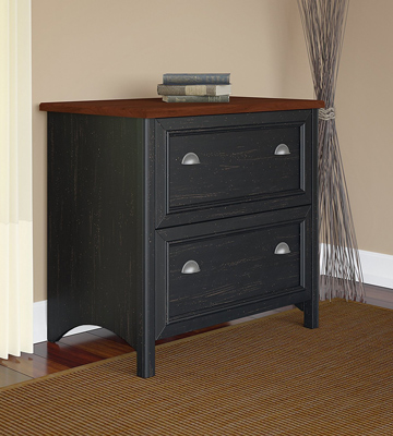Review of Bush Furniture WC53984-03 Stanford 2 Drawer Lateral File Cabinet