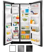 Frigidaire 25.6 Cu.Ft Side-by-Side Refrigerator