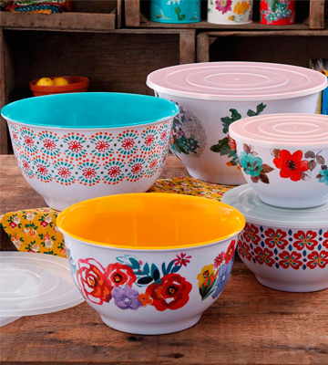 Review of The Pioneer Woman 10-Piece Bowl Set