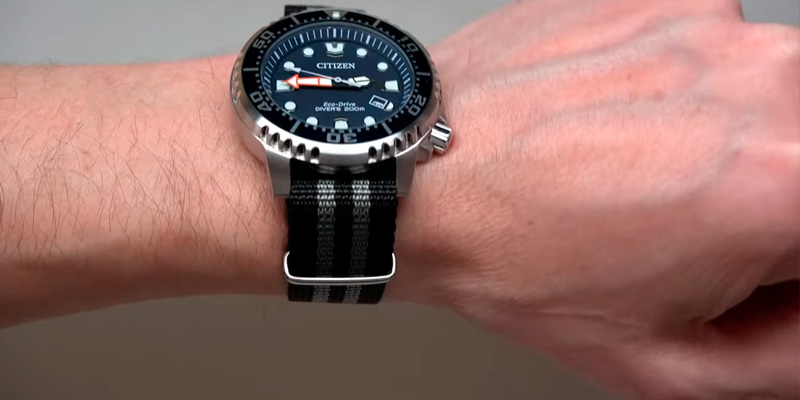 Detailed review of Citizen BN0151-09L Watches Men's Promaster Professional Diver