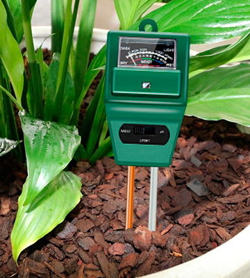 Review of Sonkir MS02 3-in-1 Soil Moisture Soil pH Meter