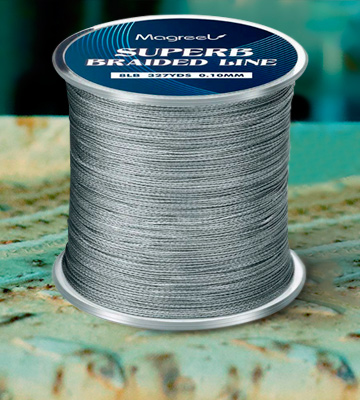 Review of Magreel Braided Fishing Line Abrasion Resistant Braided Lines High Performance Strong 4 or 8 Strand Superline