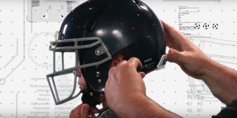 Detailed review of Schutt Sports 798004 Youth Recruit Hybrid Football Helmet