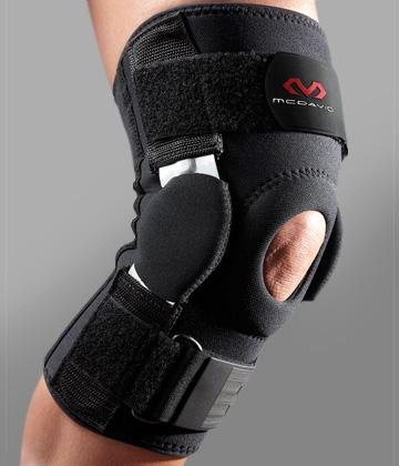 Review of McDavid 422R Dual Disk Hinged Knee Brace