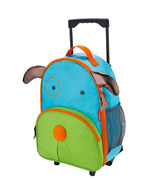 Skip Hop Darby Dog Kids Rolling Luggage