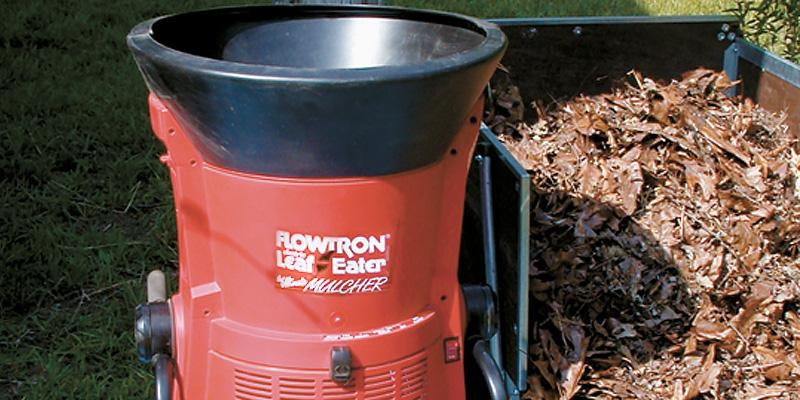 Review of Flowtron LE-900 Electric Leaf Shredder
