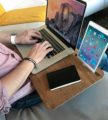 Review of iSkelter Slate 2.0 with Desk Space - Mobile LapDesk