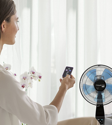 Review of Rowenta VU2660 Turbo Silence Table Fan with Remote control