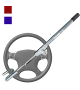 Winner International The Club 1103 LX Series Steering Wheel Lock