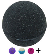 The Bath Bomb Co. Soul Cleanser Black Bath Bomb with Silver Glitter
