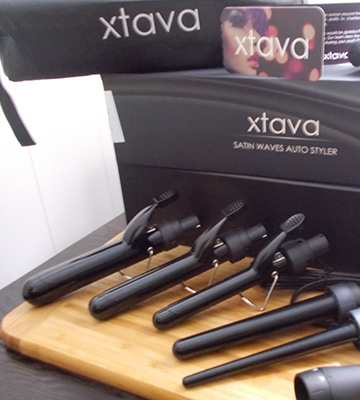 Review of XTAVA Professional XTV020031N Curling Iron and Wand Set