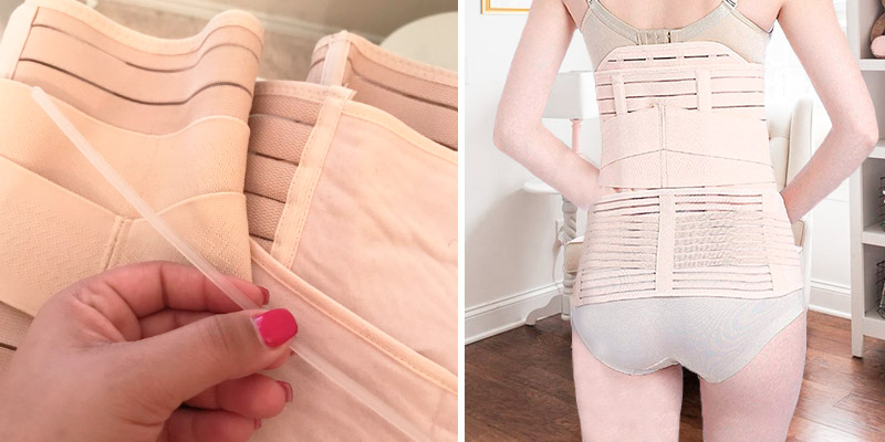 Review of Gepoetry Postpartum Support Recovery Belly Wrap Girdle Support