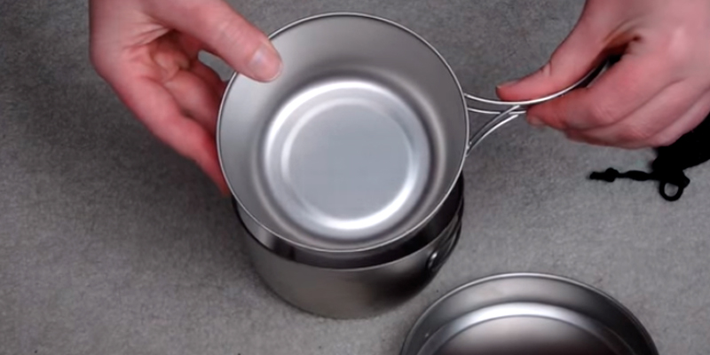 Review of Snow Peak 3 Piece Titanium Cookset