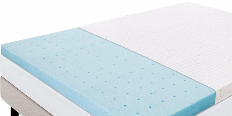 "Review of Lucid® 2.5"" Gel Infused Ventilated Memory Foam Gel Mattress Topper"