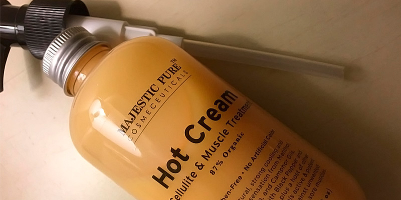 Review of Majestic Pure Anti Cellulite Hot Cream