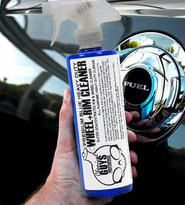 Review of Chemical Guys CLD_107 Premium Blue Wheel and Rim Cleaner and Degreaser