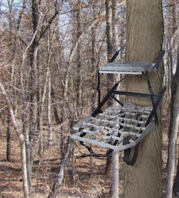 Review of Lone Wolf Treestands Combo II Climbing Treestand