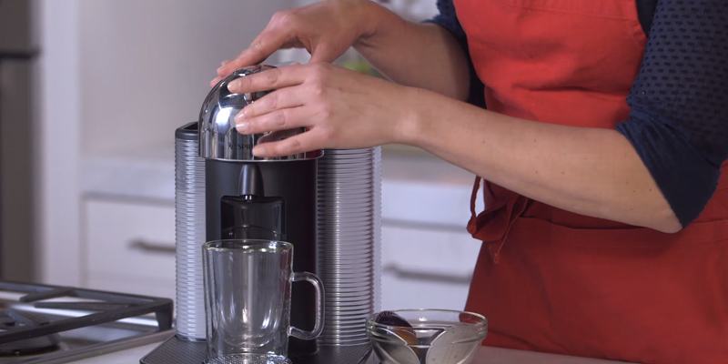 Review of Breville BNV250CRO1BUC1 Nespresso Vertuo Coffee and Espresso Maker with Aeroccino