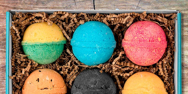 Review of Blissique Kids Bombs Assorted Rainbow Colors Boys Bath Bombs Gift Set