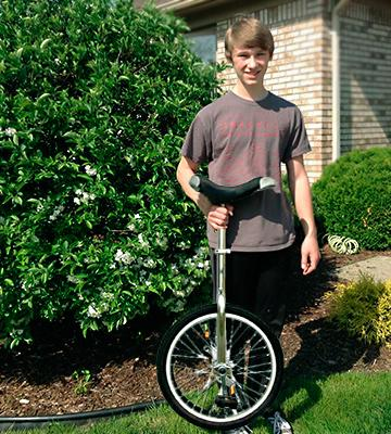 Review of Fun Chrome 20 Unicycle with Alloy Rim