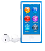 Apple iPod Nano (7th Generation) 16GB Blue MKN02LL/A