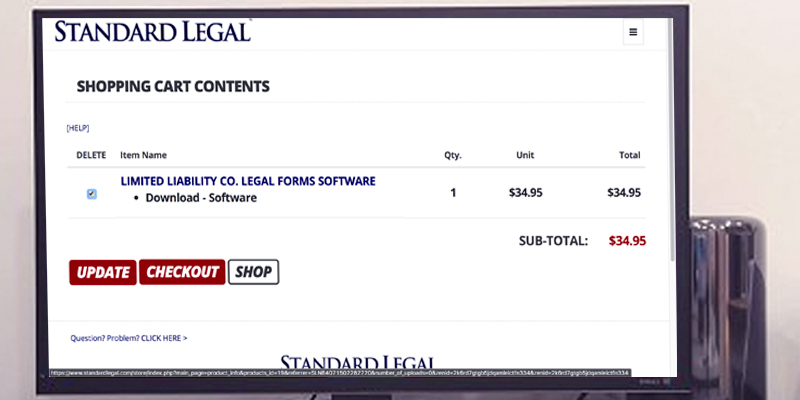 Detailed review of Standard Legal LLC Legal Forms Software