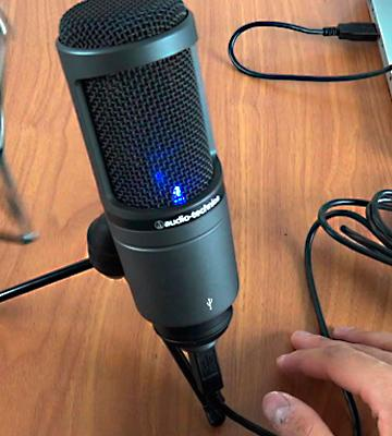 Review of Audio-Technica AT2020USB Condenser Microphone
