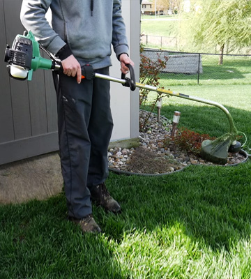 Review of Hitachi CG23ECPSL 22.5cc 2-Cycle Gas Powered Solid Steel Drive Shaft String Trimmer