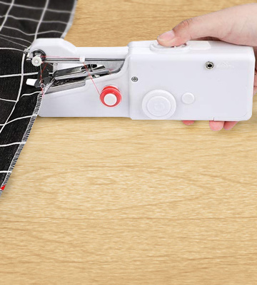 Review of Litthing Handheld Sewing Machine and Sewing Thread Kit