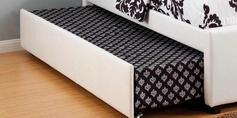 Detailed review of Poundex Full Bed with Roll-out Trundle