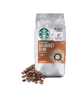 Starbucks Breakfast Blend Medium Roast Whole Bean