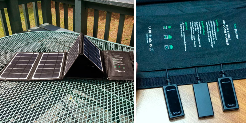 Review of RAVPower RP-PC005 24W 3-Port Solar Panel Charger