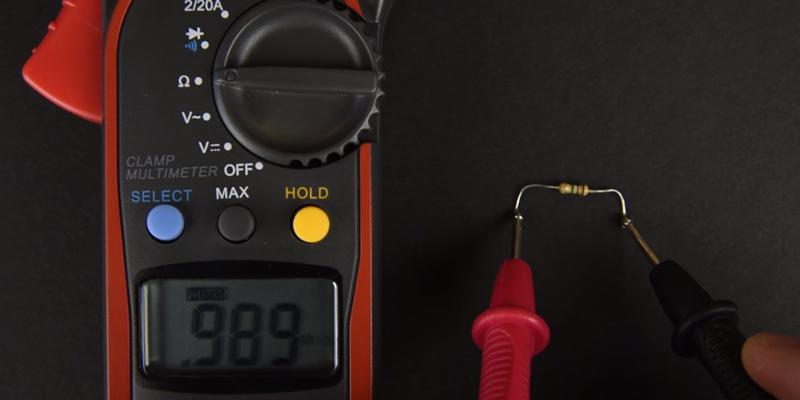 Etekcity MSR-C600 With Clamp Meter & AC / DC Voltage Test in the use