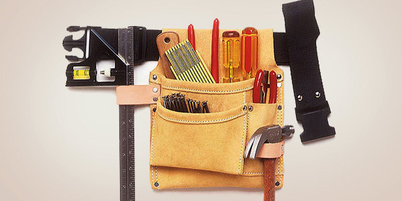 Review of Custom Leathercraft IP489X Tool Bag with Belt