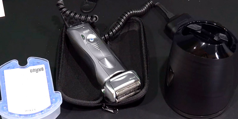 Review of Braun Series 7 790cc Men's Electric Foil Shaver