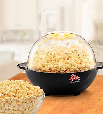 Review of West Bend 82306 Stir Crazy Electric Popcorn Popper