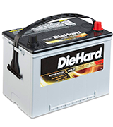 DieHard Advanced Gold 34R Car Battery (55 Ah, 775 Amp)