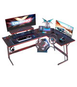 DESINO 60 Inch L Shaped Gaming Desk