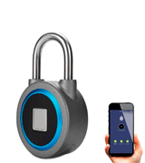 WGCC Bluetooth Connection Metal Waterproof Fingerprint Padlock