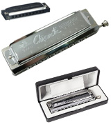 Swan SW1040 Harmonica in C Key 10 Holes 40 Tone, Chromatics