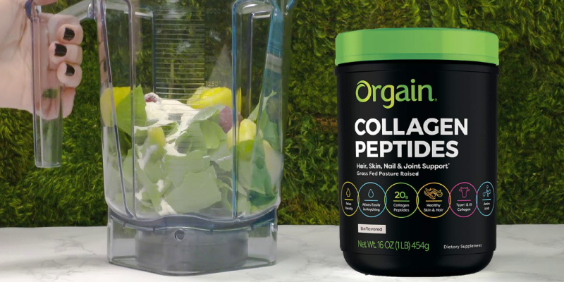 Review of Orgain Grass Fed Hydrolyzed Collagen Peptides Protein Powder