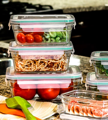 Review of Glasslock 18-Piece Assorted Oven Safe Container Set
