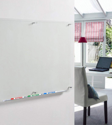 Review of Audio-Visual Direct GB90120-NC Clear Glass Dry-Erase Board 48x36 Inches