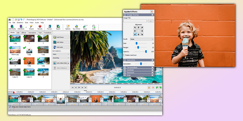 Detailed review of NCH Software PhotoStage Slideshow Software