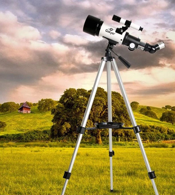 Review of Gskyer AZ70400 70mm Astronomical Refractor Telescope