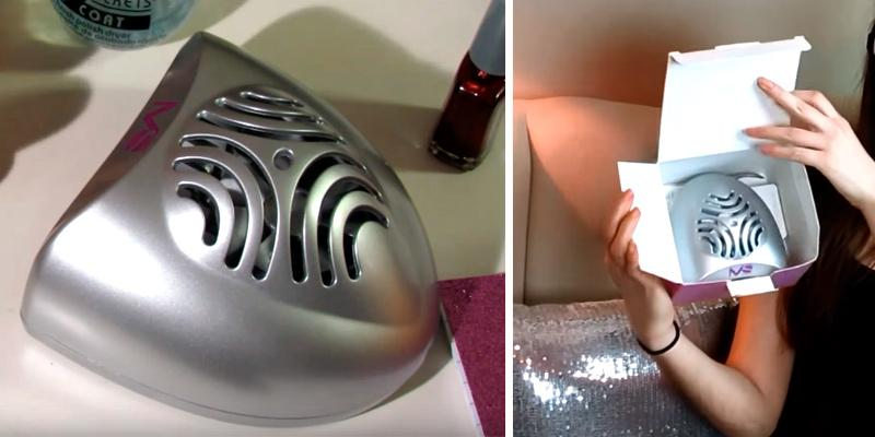 Detailed review of MelodySusie Portable Nail Dryer with Mini Fan