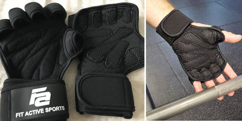 Review of Fit Active Sports Ventilated Weight Lifting Gloves
